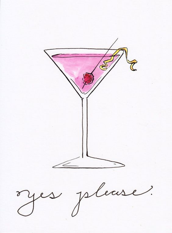 Cocktail clipart cosmo drink. Pin by funky pineapple