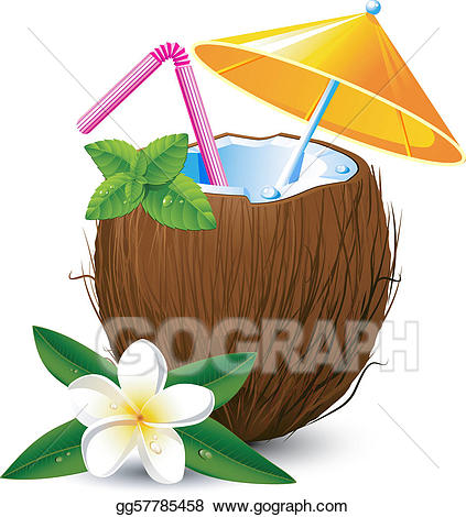 cocktails clipart exotic