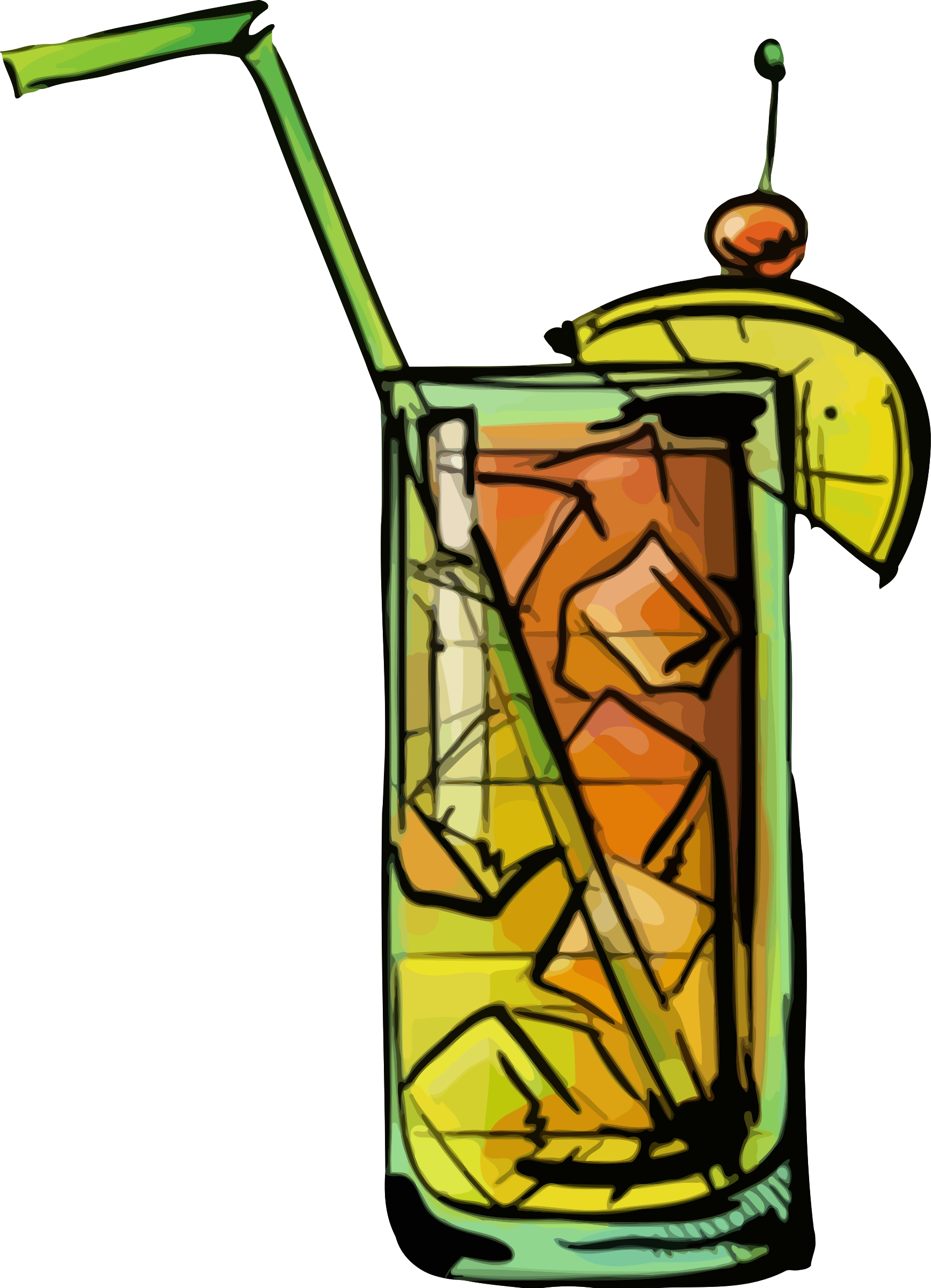 Cocktails clipart group. Bahama mama cocktail icons