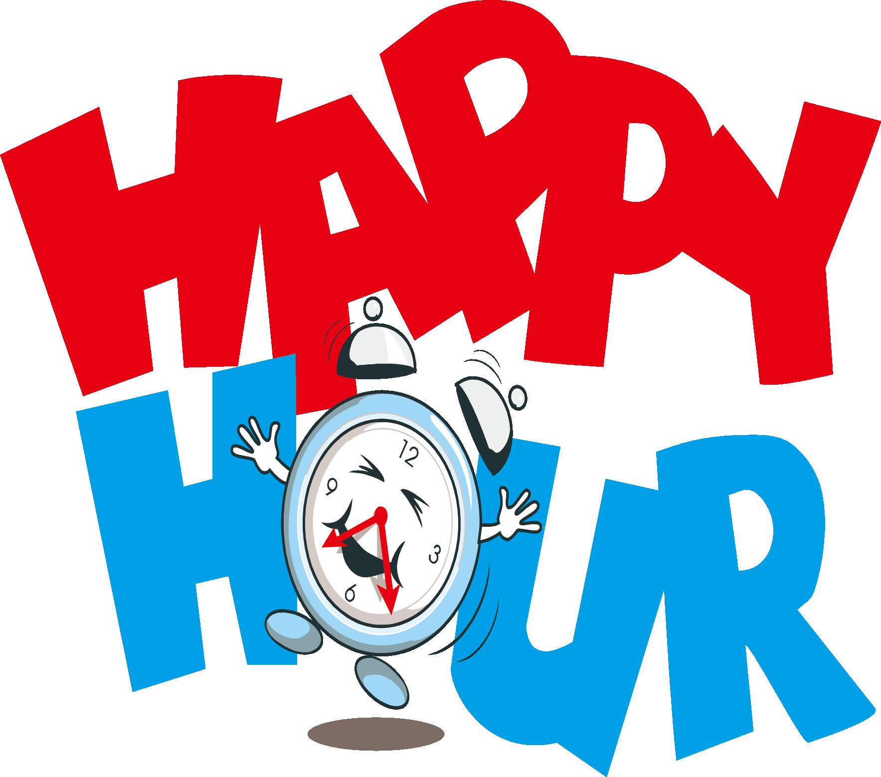 Happy Hour Logo Transparent