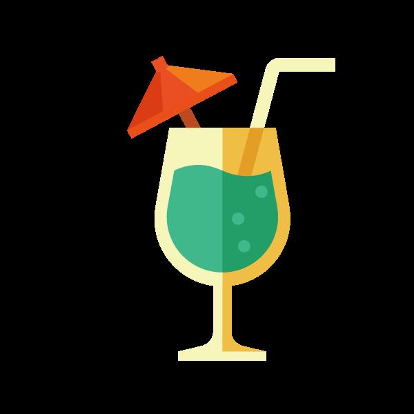 Distilled beverage drink clip. Cocktail clipart juice