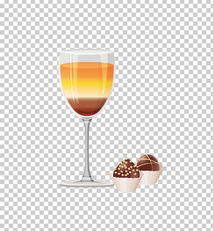 Juice wine glass liqueur. Cocktail clipart liqour