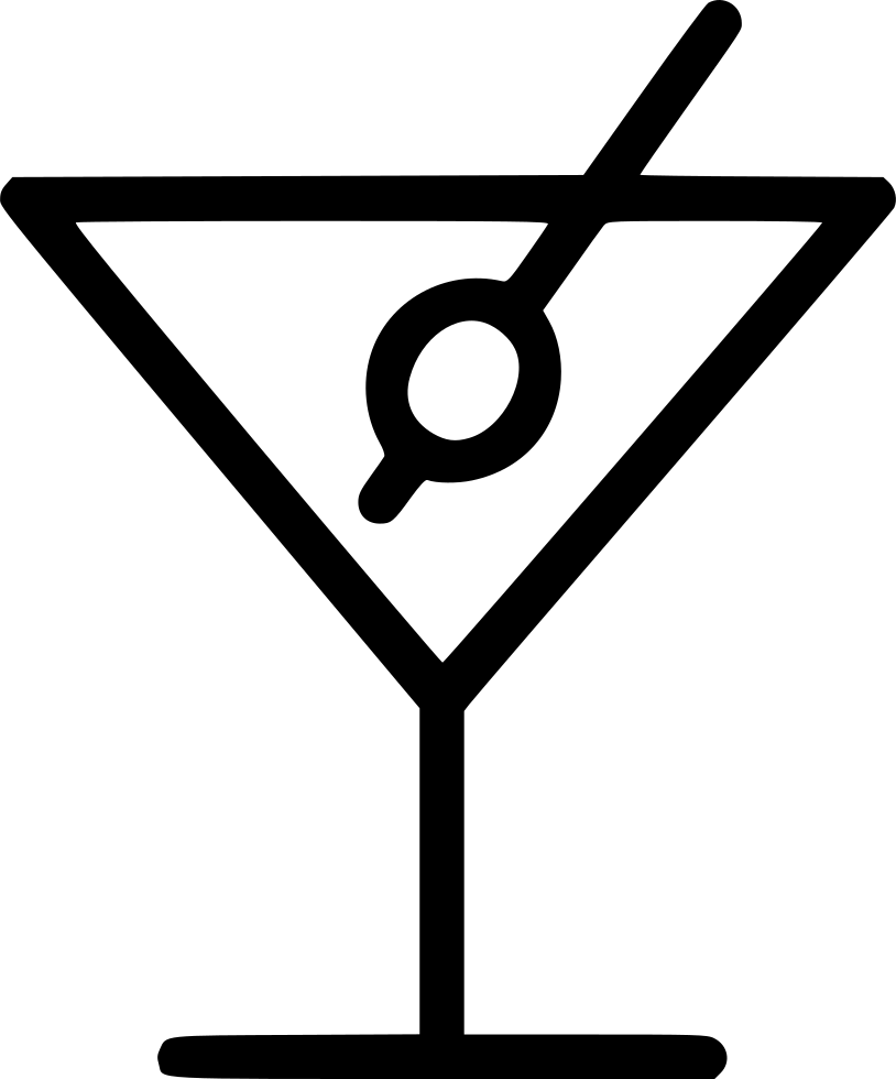 Drink svg png icon. Cocktail clipart martini