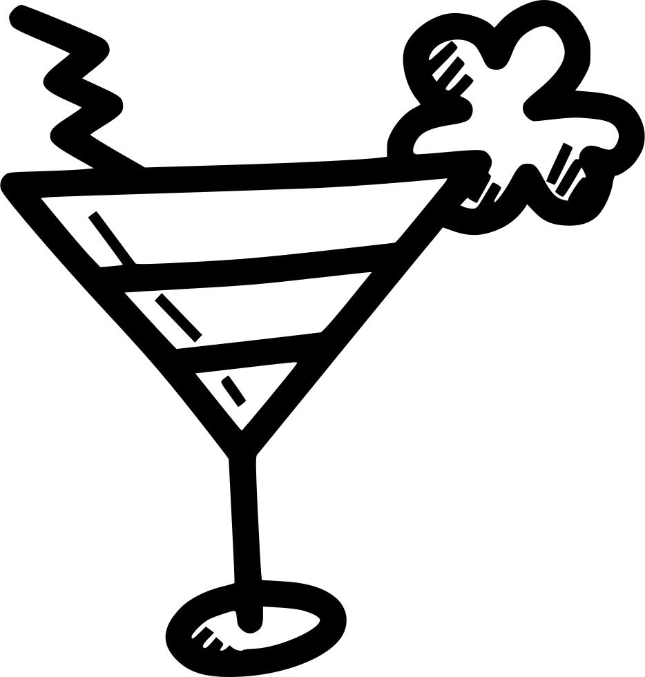 Cocktails clipart mocktail. Cocktail drink shamrock svg