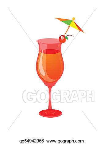 Stock illustration cocktail drink. Cocktails clipart mocktail