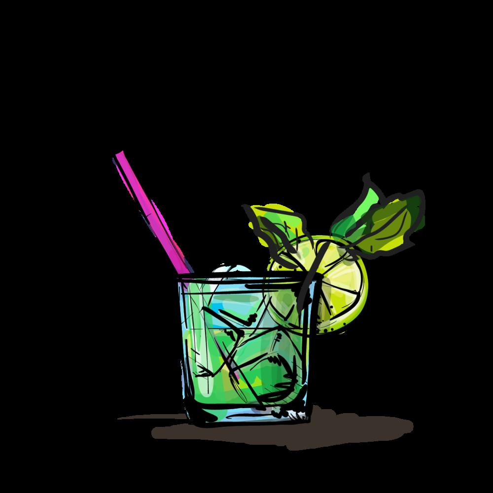 cocktail clipart mojito