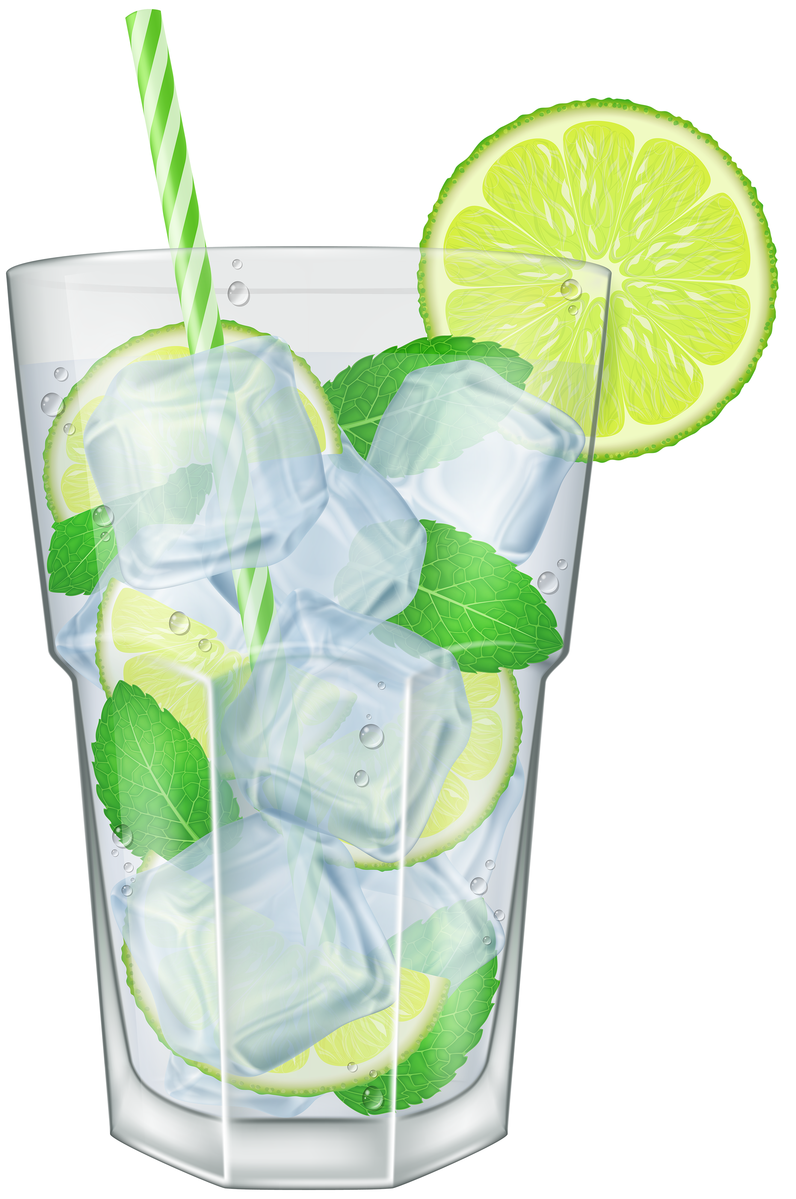 Cocktail clipart mojito. Png clip art image