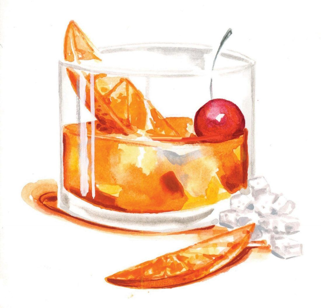 Pin on era . Cocktails clipart old fashioned cocktail