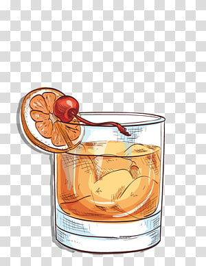 Rye whiskey bourbon angostura. Cocktails clipart old fashioned cocktail