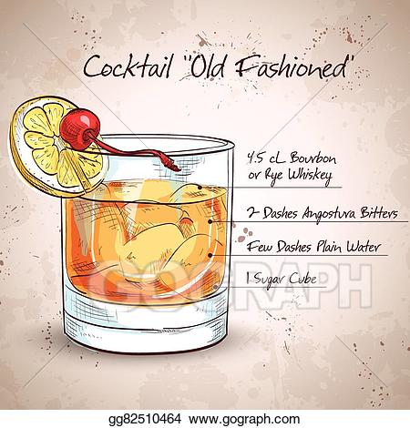 cocktail clipart old fashioned cocktail