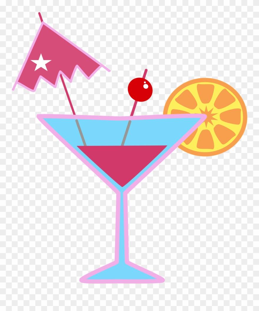 Cocktails clipart pina colada glass. Cocktail coctel dibujo png