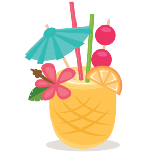 Cocktails clipart pineapple drink. Free cut file of