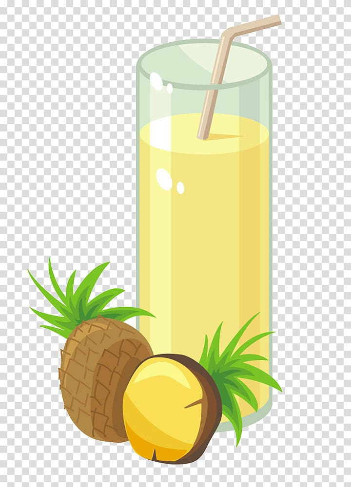 Juice pixf a colada. Cocktail clipart pineapple drink