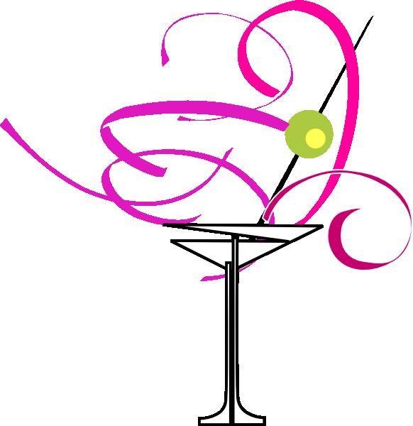 Engagement clipart bachelorette ring. Martini glass clip art