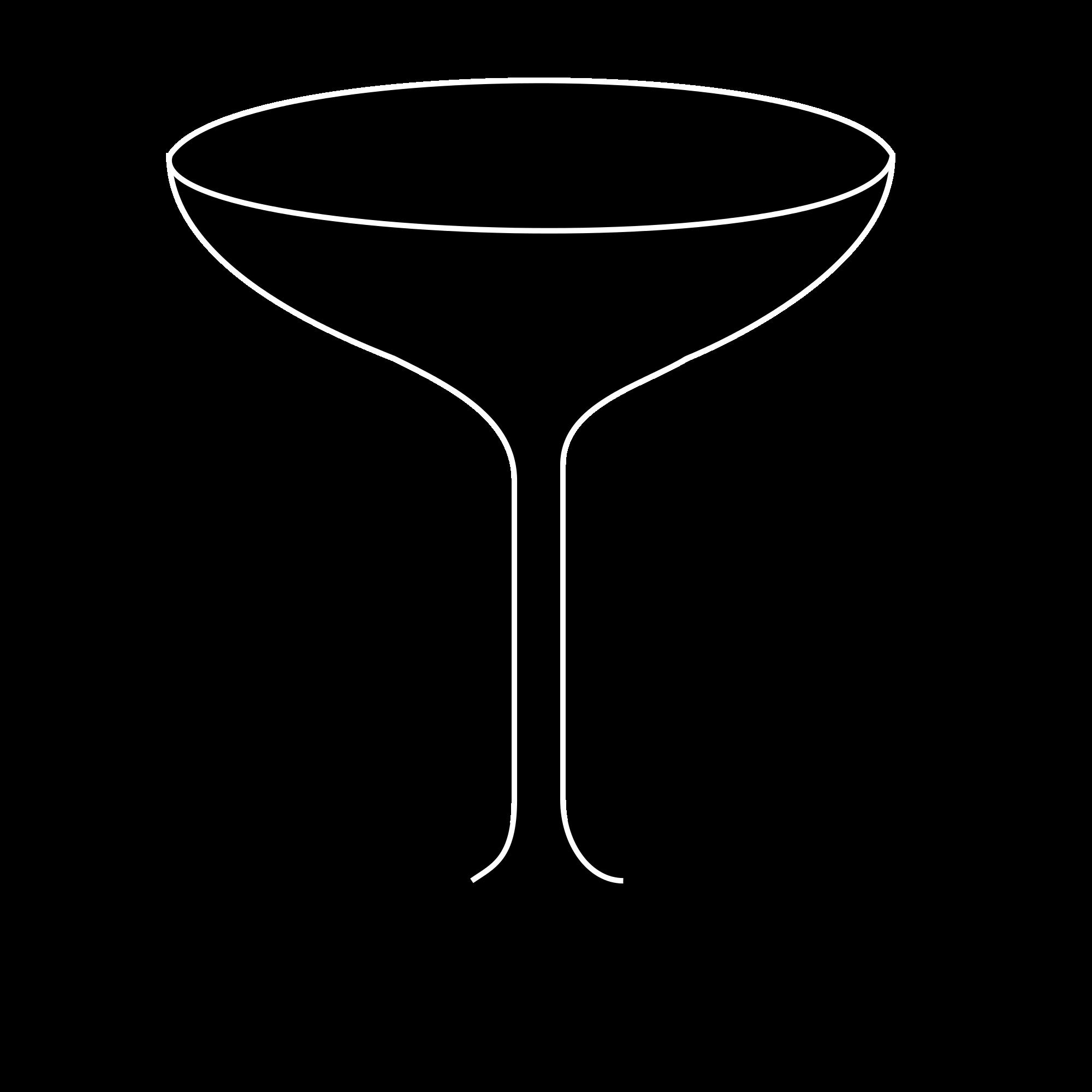 Cocktail clipart prosecco. File coppa asti sagoma