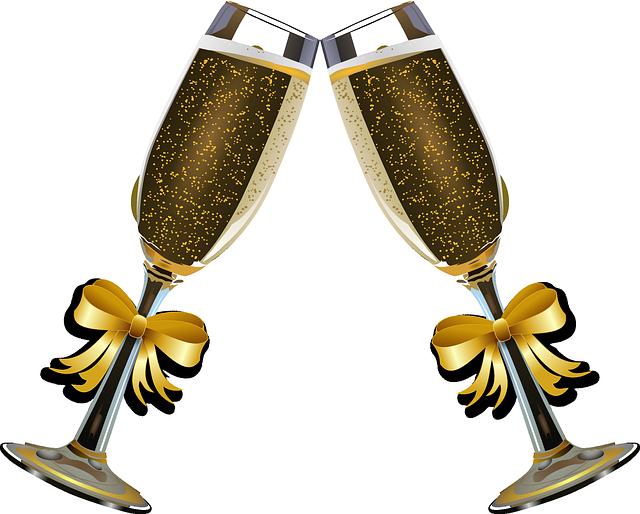 cocktail clipart prosecco