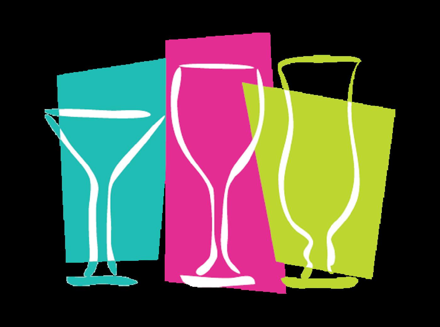 Tap n vine restaurant. Cocktail clipart prosecco