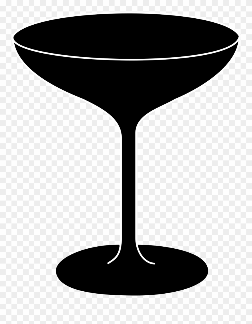 Bicchiere sagoma png download. Cocktail clipart prosecco