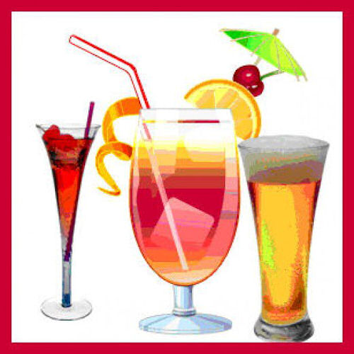 Cocktail clipart punch drink. How to make party