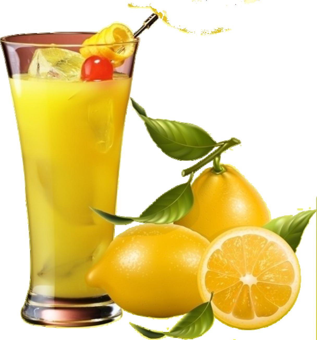 Juice lemon fruit clip. Cocktail clipart punch drink