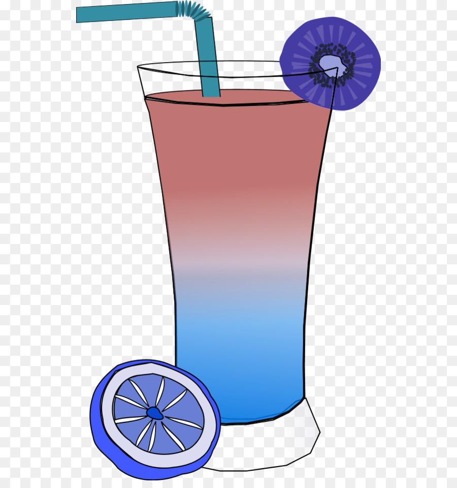 Cocktail clipart punch drink. Christmas blue juice transparent