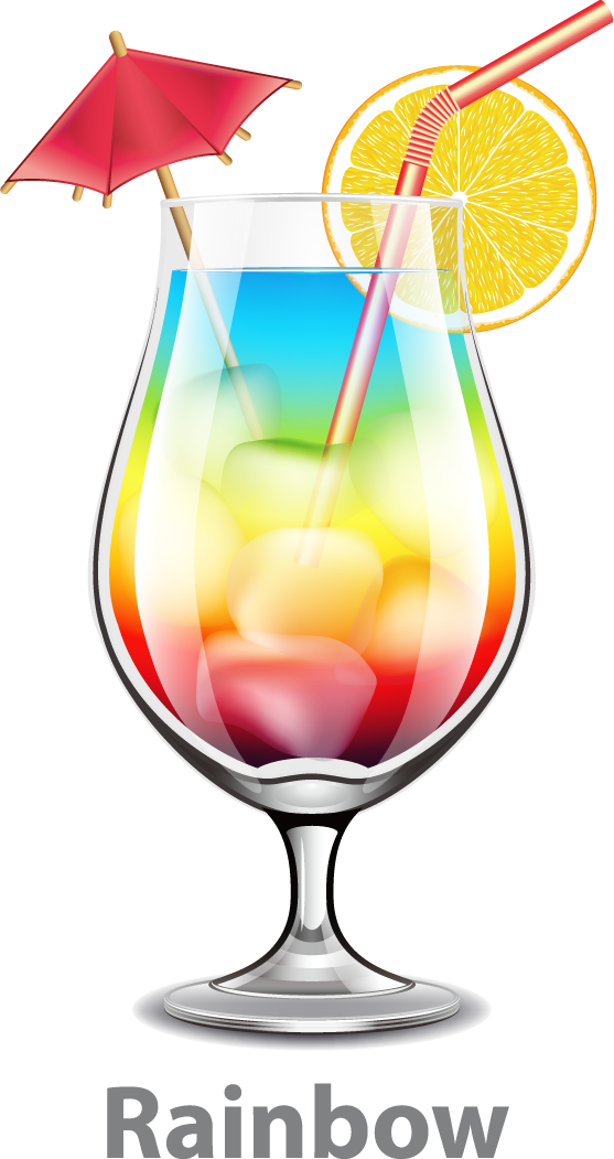 Orange juice mai tai. Cocktails clipart hurricane cocktail