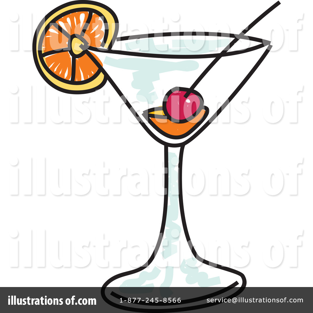 Illustration by prawny . Cocktail clipart royalty free