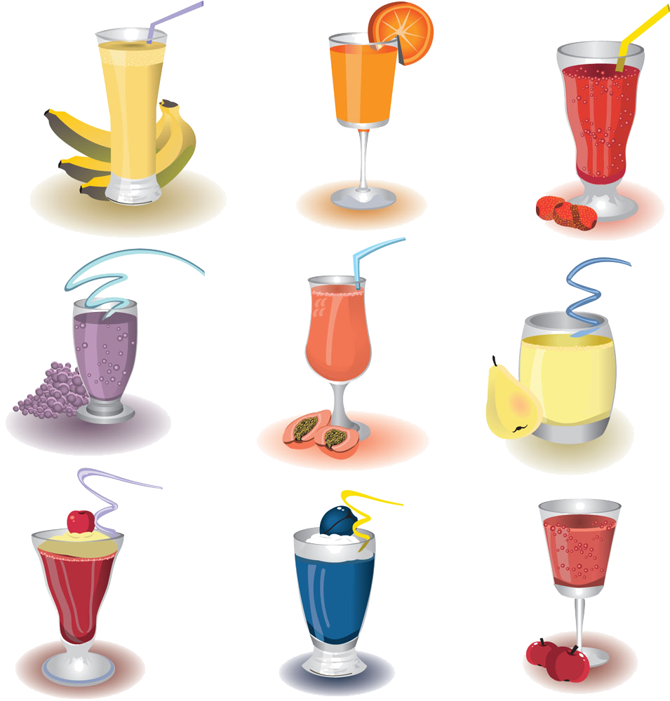 Smoothie milkshake cocktail health. Juice clipart fruit shake