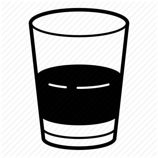 Glasses background whiskey cocktail. Cocktails clipart shot glass