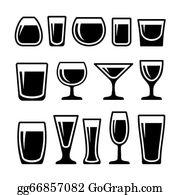 drinking clipart shot glass