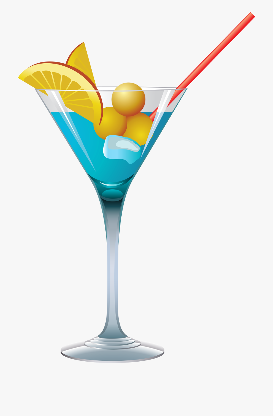 Png free . Drink clipart blue cocktail