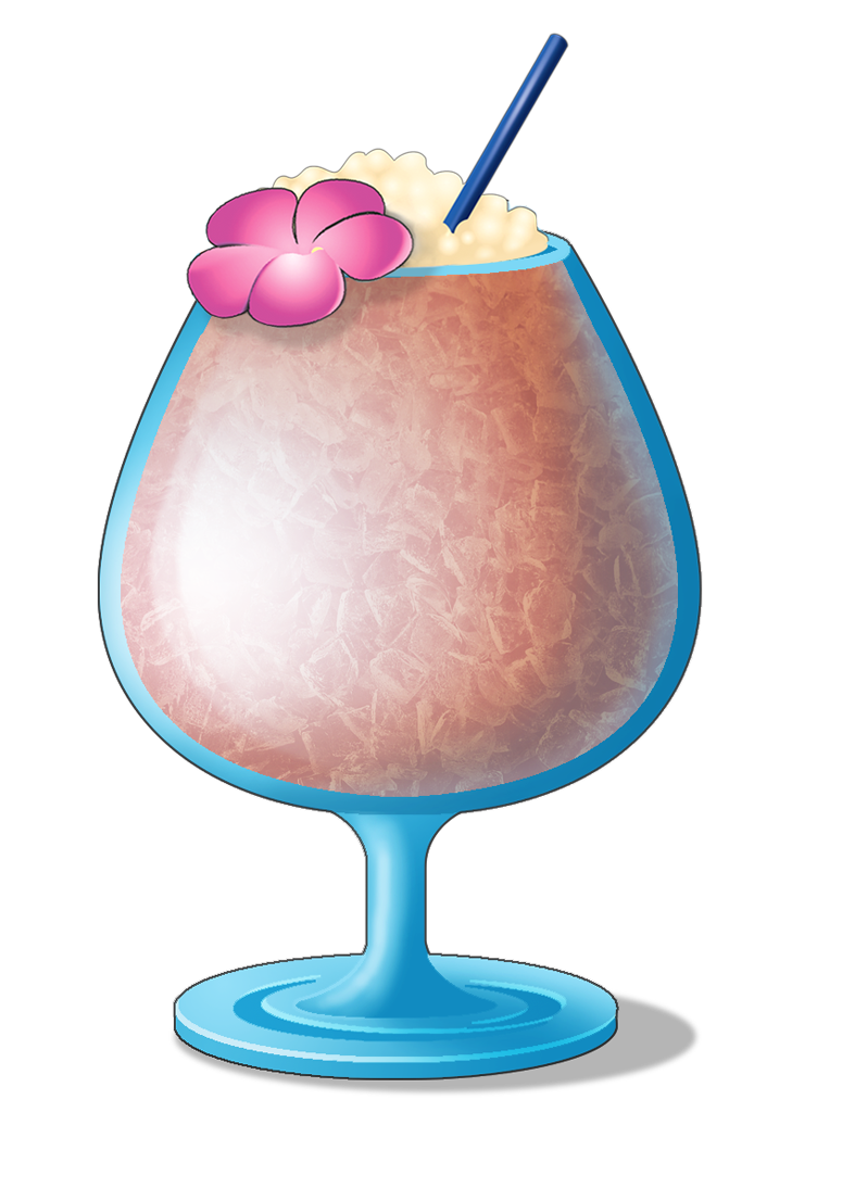 cocktail clipart tiki drink