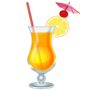 Free cocktail cliparts download. Drinks clipart tropical