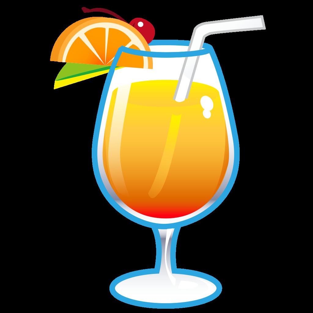 File phantom open emoji. Cocktails clipart welcome drink