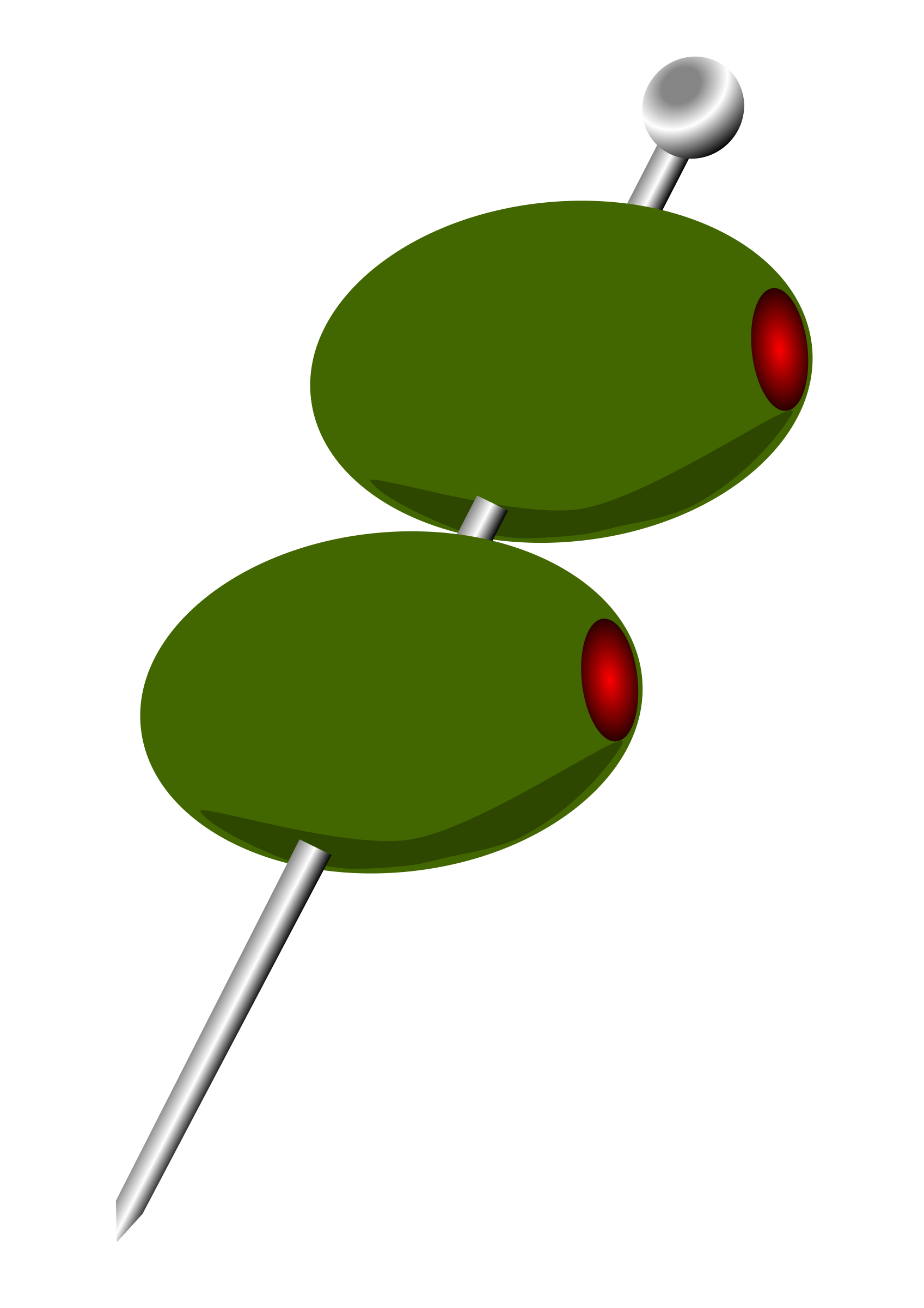 Cocktail clipart two. Olives big image png