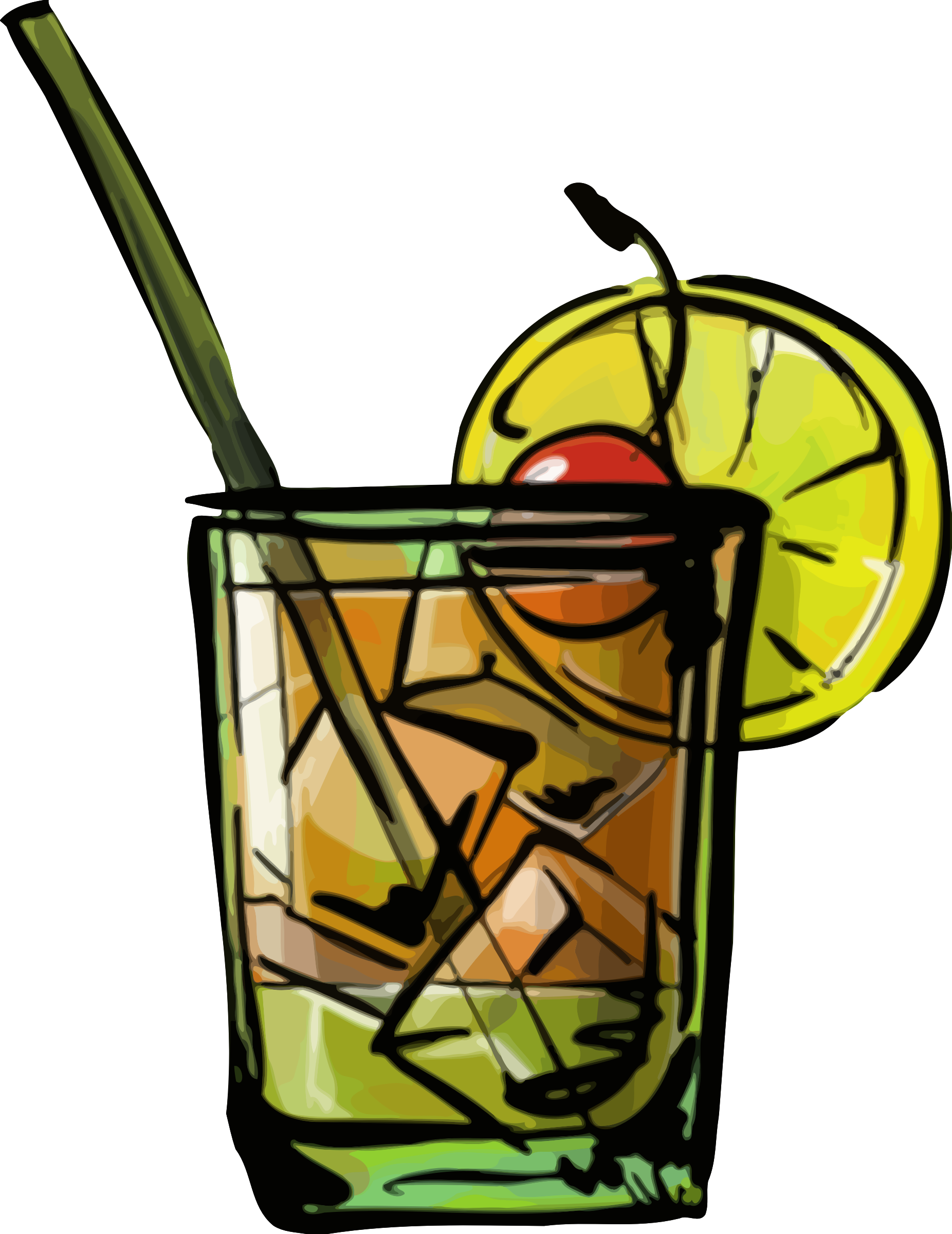 Glass clipart whiskey. Sour cocktail big image