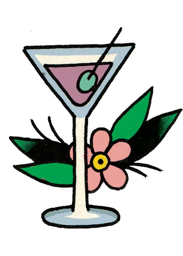 Cocktails clipart cocktail dinner. Breakaway cafe menu rotterdam