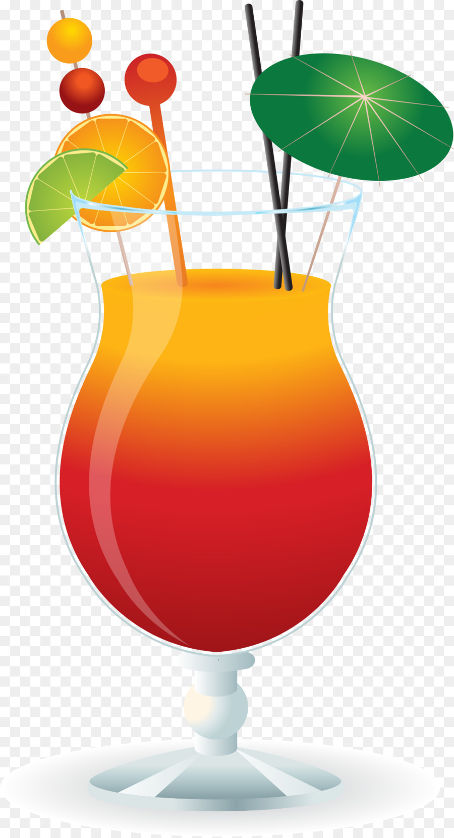 Cocktail margarita red russian. Cocktails clipart