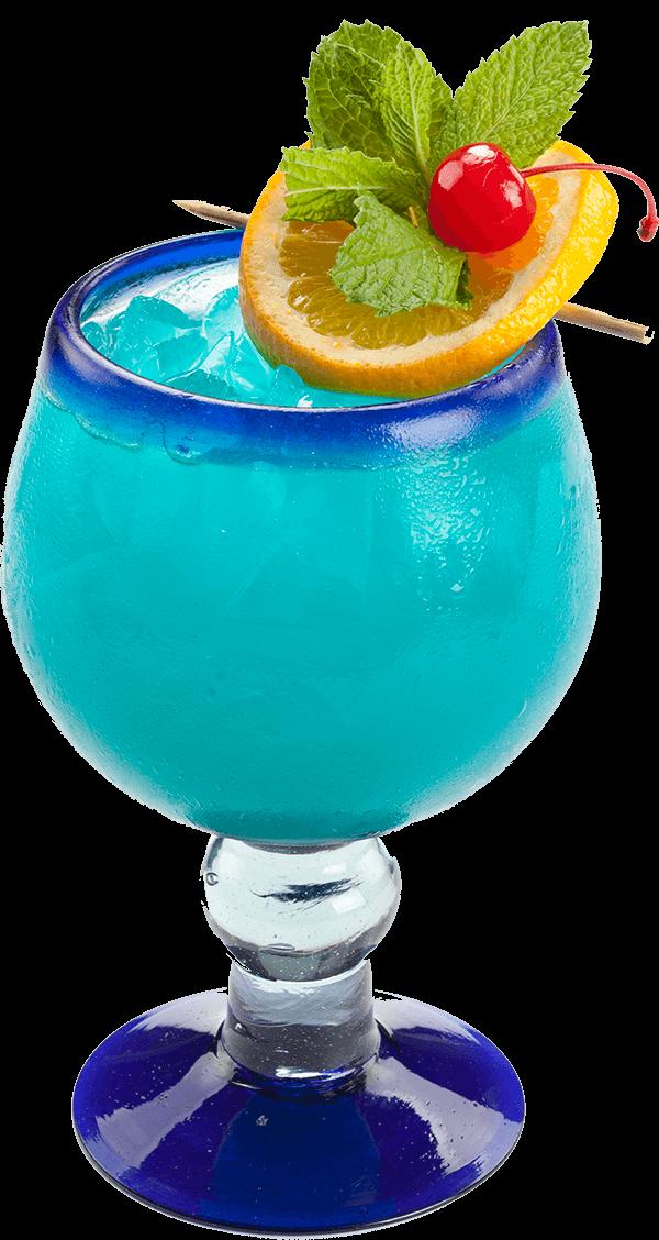 Cocktails clipart blue lagoon. Drink menu hacienda mexican