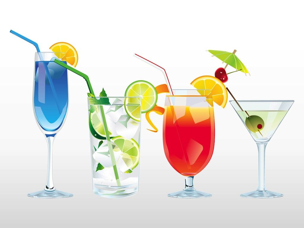Drinks images cocktails ice. Cocktail clipart colorful