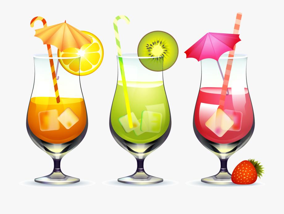Black free for download. Cocktails clipart fruit cocktail