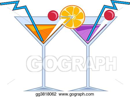 Cocktails clipart fruit cocktail. Drawing gg gograph