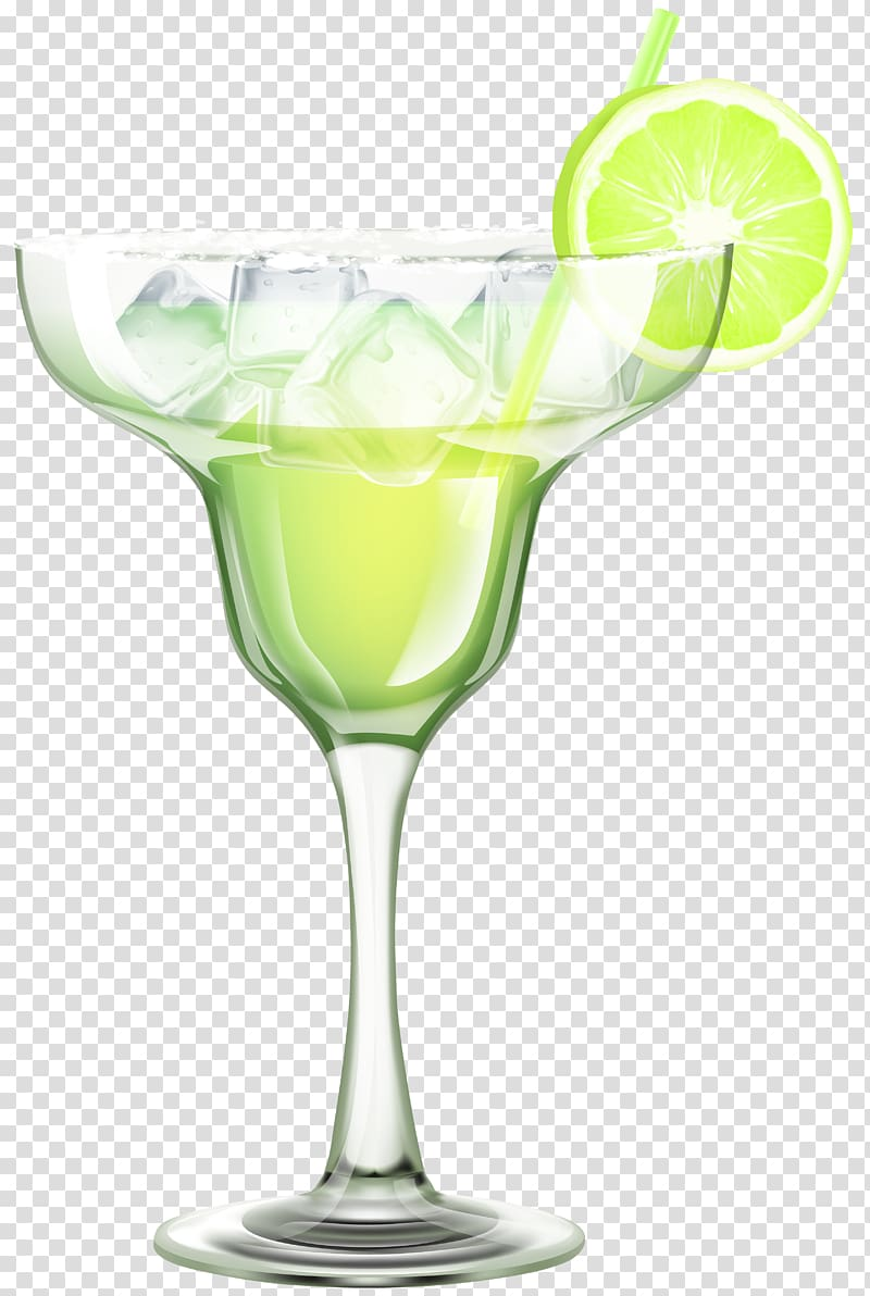 Cocktails clipart pina colada glass. Martini with green liquid
