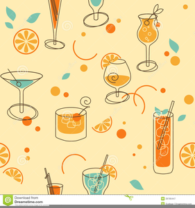 Retro images at clker. Cocktails clipart royalty free