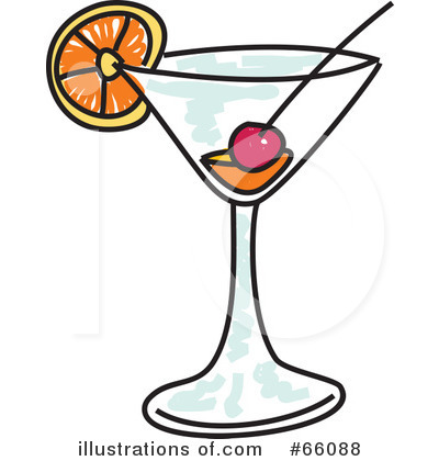 Cocktail illustration by prawny. Cocktails clipart royalty free