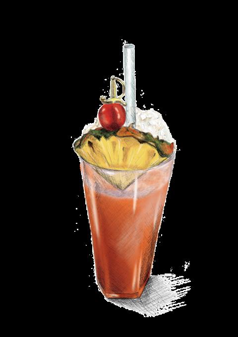 Cocktails clipart rum punch. Menus the liars club