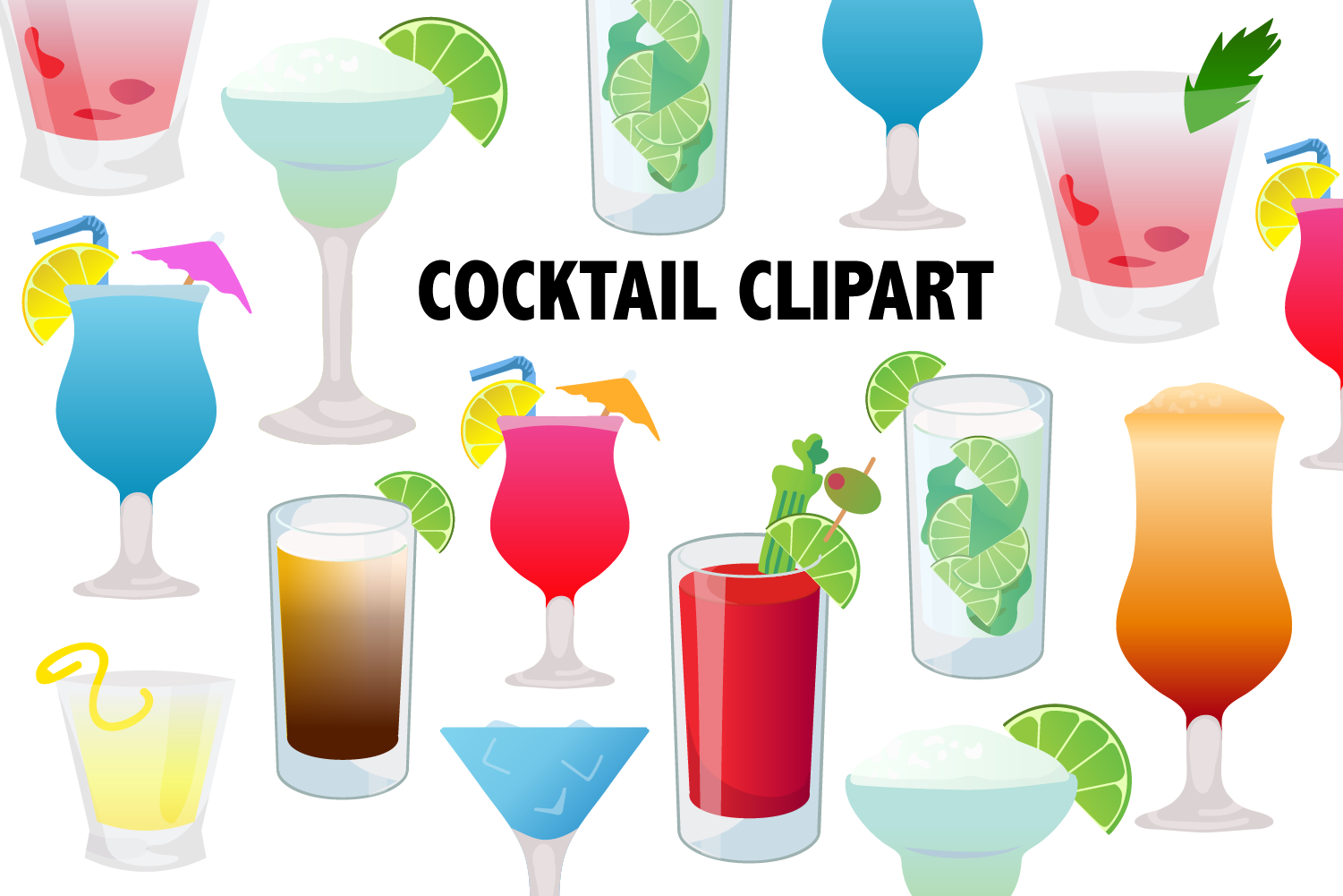 Cocktail . Cocktails clipart special