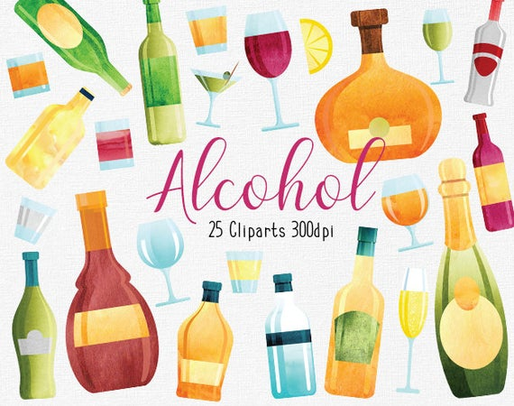 Cocktails clipart spirit alcohol. Alcoholic drinks liquor bottles