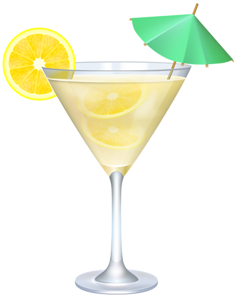 Cocktails clipart yellow. Pin by sande d