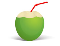 Coconut clipart. Search results for clip